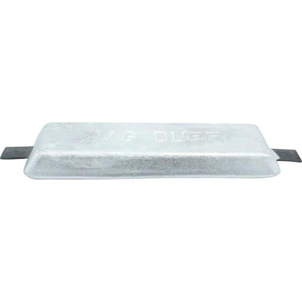 MG Duff AD60 Straight Aluminium Hull Anode (Salt / Brackish / 2.5kg)