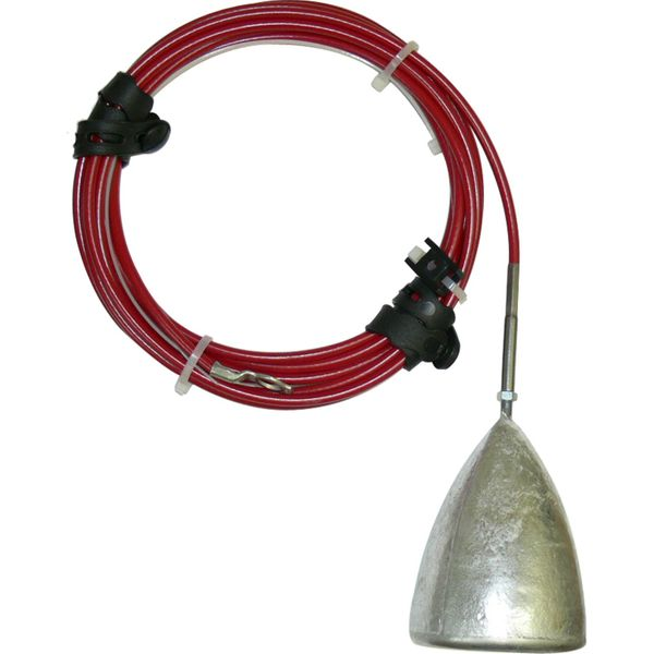 MG Duff AD57LKIT Hanging Aluminium Hull / Mooring Anode (0.8kg)