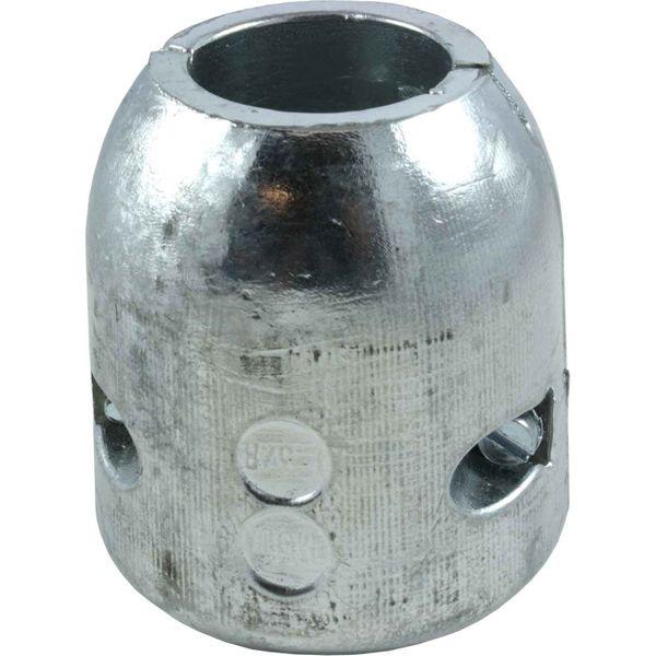 """MG Duff MGD1 38 Zinc Shaft Anode 1-3/8"""" Shaft (35mm Diameter)"""
