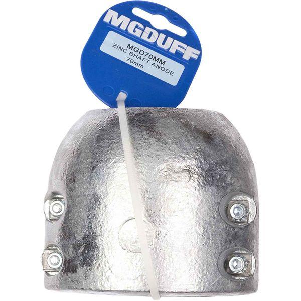 MG Duff MGD70MM Zinc Shaft Anode 70mm Shaft