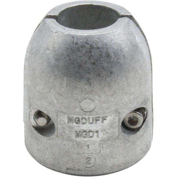 """MG Duff MGDA1 1"""" Shaft Anode (Aluminium)"""