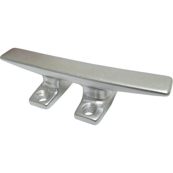 4Dek Polished Aluminium Deck Cleat 120mm Long