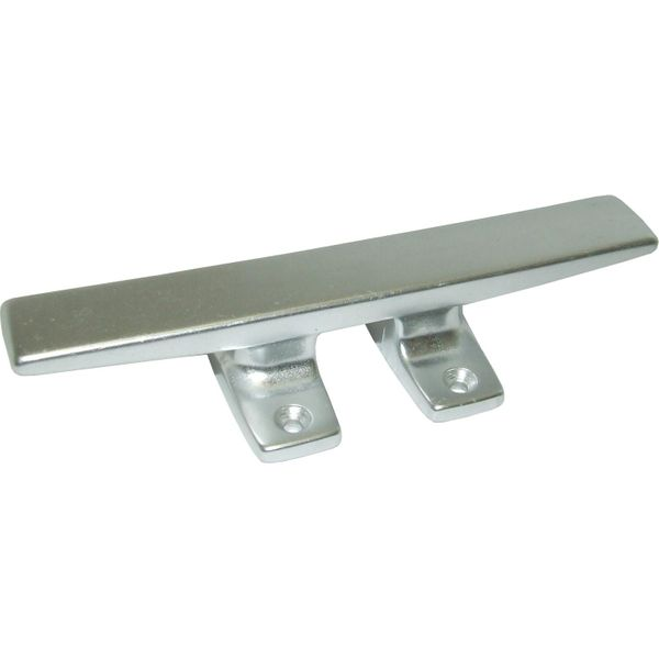 4Dek Polished Aluminium Deck Cleat 200mm Long