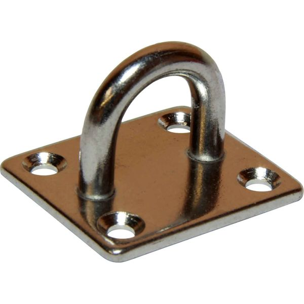 4Dek Stainless Steel Eye Plate (35mm x 40mm Base / 4 Bolts)