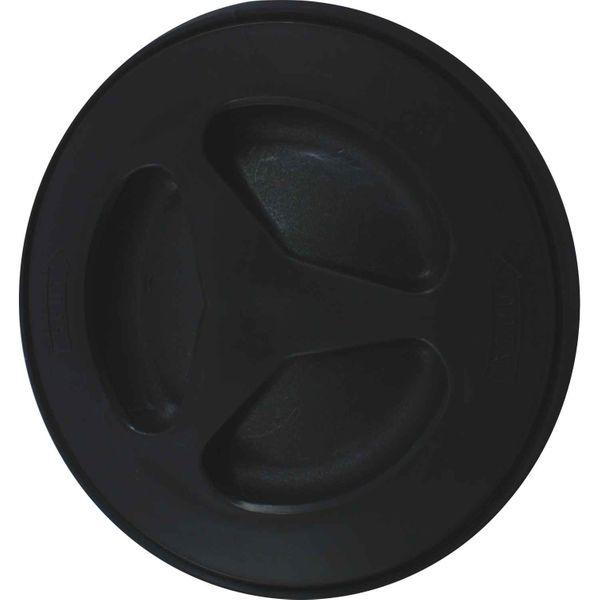 4Dek Plastic Watertight Inspection Cover (Black / 106mm Opening)