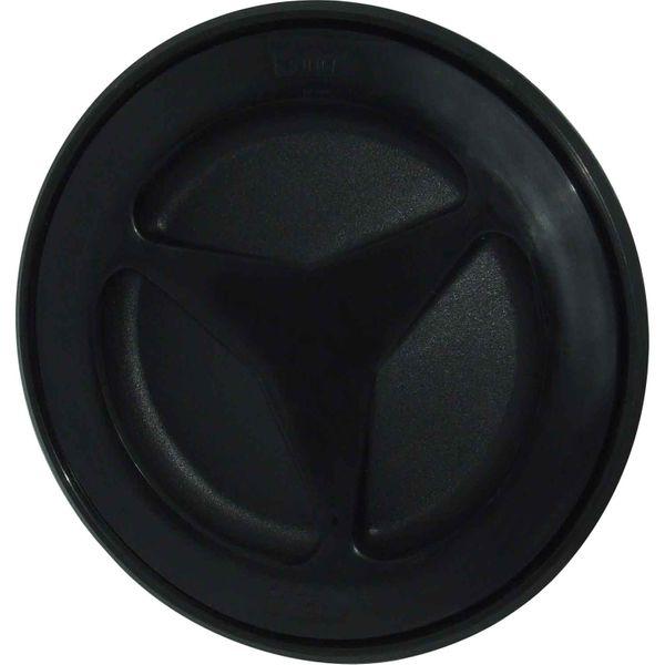 4Dek Plastic Watertight Inspection Cover (Black / 155mm Opening)
