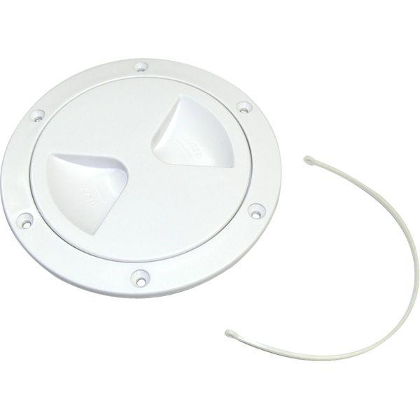 4Dek Plastic Watertight Inspection Cover (White / 103mm Opening)