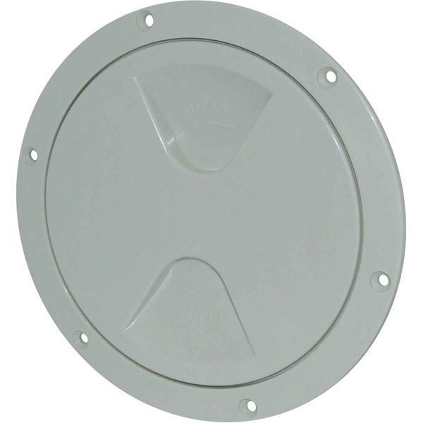 4Dek Plastic Watertight Inspection Cover (White / 125mm Opening)