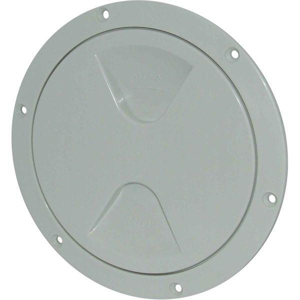 4Dek Plastic Watertight Inspection Cover (White / 125mm Opening)
