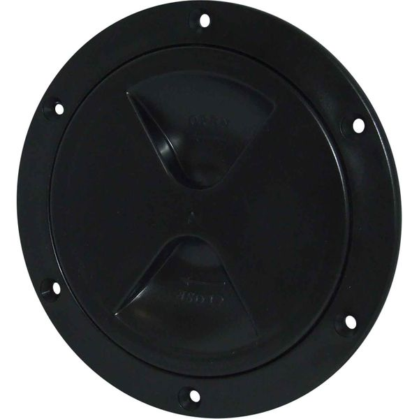 4Dek Plastic Watertight Inspection Cover (Black / 102mm Opening)