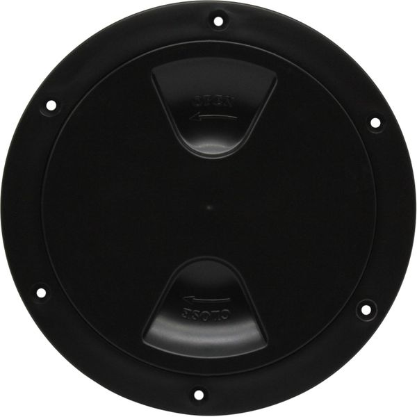 4Dek Plastic Watertight Inspection Cover (Black / 152mm Opening)