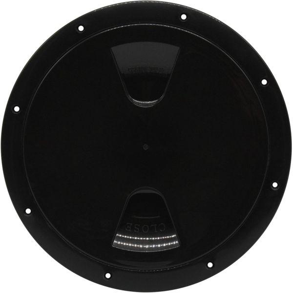 4Dek Plastic Watertight Inspection Cover (Black / 203mm Opening)