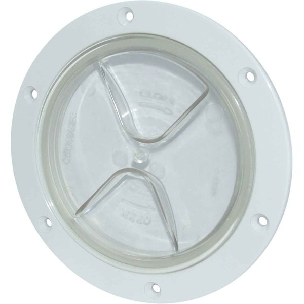 4Dek Plastic Watertight Inspection Cover (Clear / 102mm Opening)