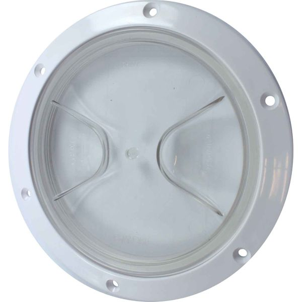 4Dek Plastic Watertight Inspection Cover (Clear / 125mm Opening)