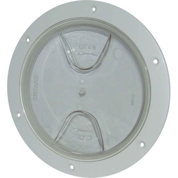 4Dek Plastic Watertight Inspection Cover (Clear / 152mm Opening)