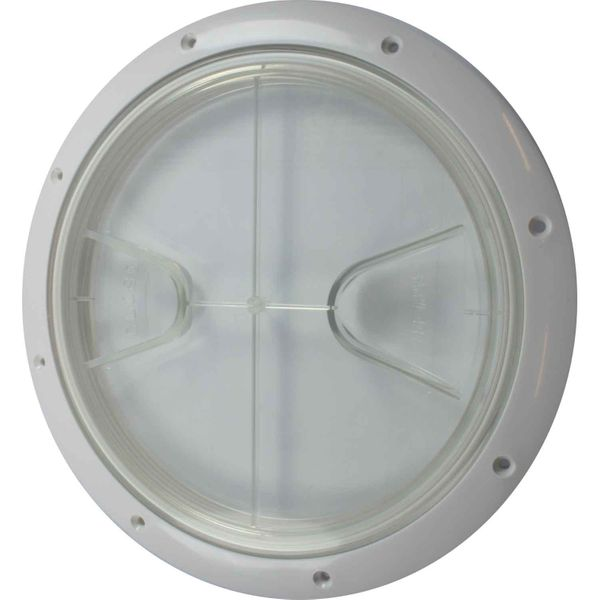 4Dek Plastic Watertight Inspection Cover (Clear / 203mm Opening)