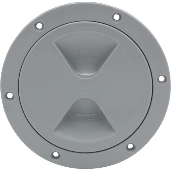 4Dek Plastic Watertight Inspection Cover (Grey / 102mm Opening)