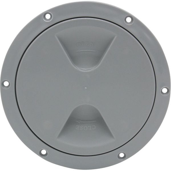 4Dek Plastic Watertight Inspection Cover (Grey / 125mm Opening)