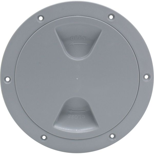 4Dek Plastic Watertight Inspection Cover (Grey / 152mm Opening)