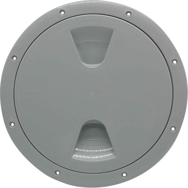 4Dek Plastic Watertight Inspection Cover (Grey / 203mm Opening)