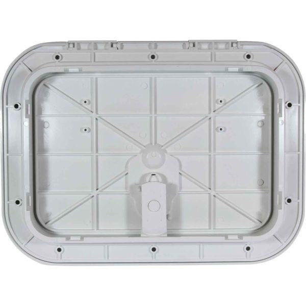 4Dek White Plastic Flush Inspection Hatch (295mm x 198mm)