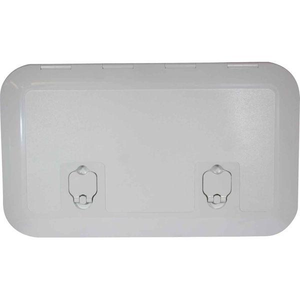 4Dek White Plastic Flush Inspection Hatch (513mm x 265mm)