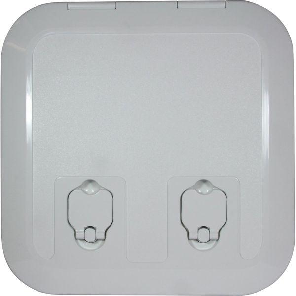 4Dek White Plastic Flush Inspection Hatch (285mm x 285mm)