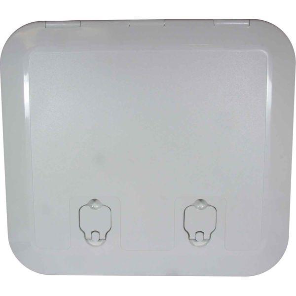 4Dek White Plastic Flush Inspection Hatch (430mm x 375mm)