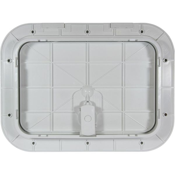 4Dek White Plastic Inspection Hatch (295mm x 198mm)