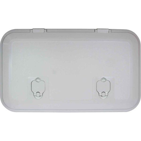 4Dek White Plastic Inspection Hatch (513mm x 265mm)