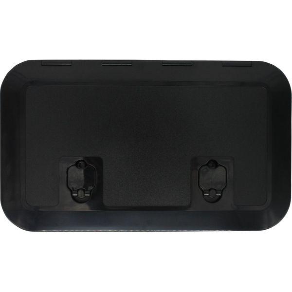 4Dek Black Plastic Inspection Hatch (513mm x 265mm)