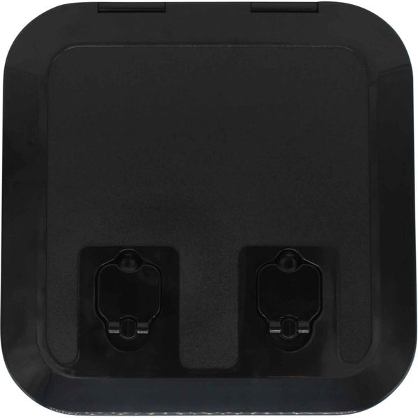 4Dek Black Plastic Inspection Hatch (285mm x 285mm)