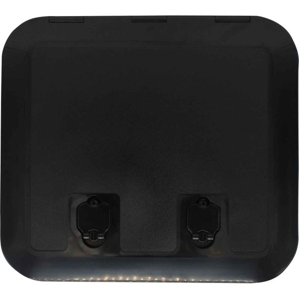 4Dek Black Plastic Inspection Hatch (430mm x 375mm)