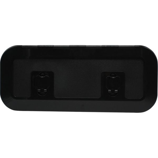 4Dek Black Plastic Inspection Hatch (515mm x 165mm)