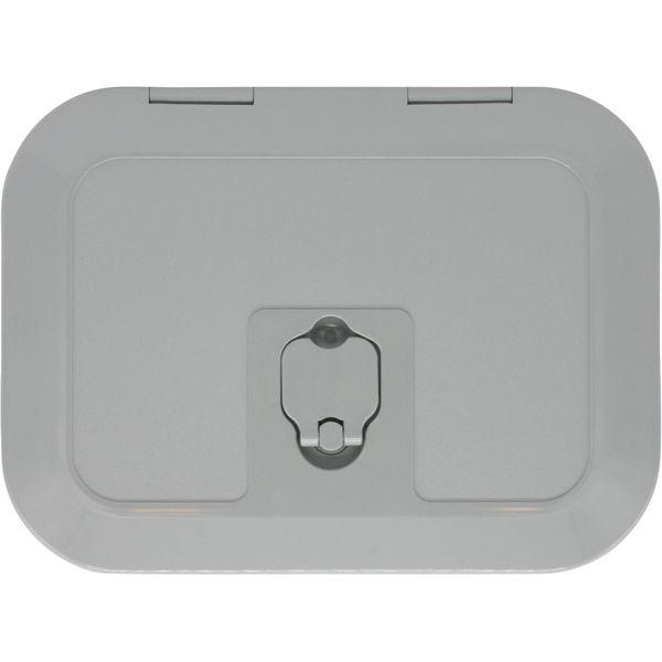 4Dek Grey Plastic Inspection Hatch (295mm x 198mm)