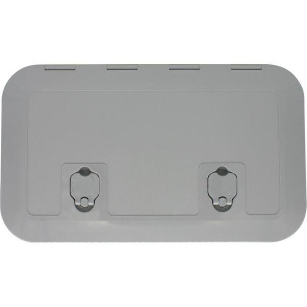 4Dek Grey Plastic Inspection Hatch (513mm x 265mm)