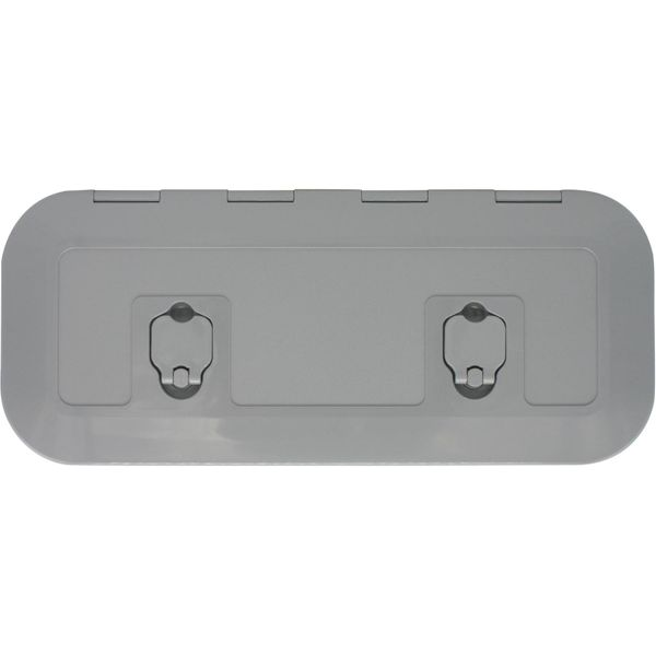 4Dek Grey Plastic Inspection Hatch (515mm x 165mm)