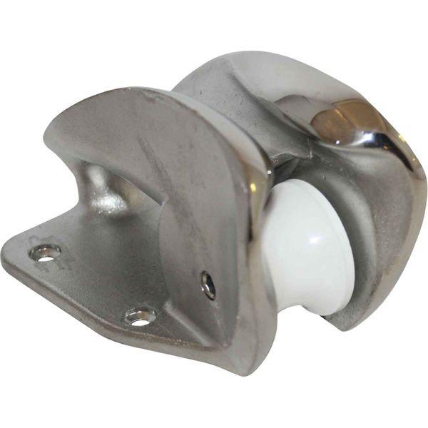 4Dek Stainless Steel Bow Roller (130mm Long)