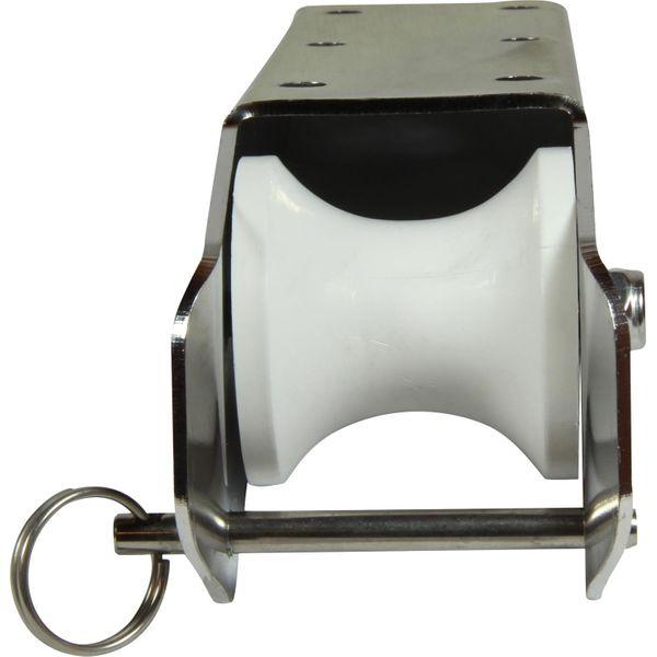 4Dek Stainless Steel Bow Roller (210mm Long x 57mm Width)