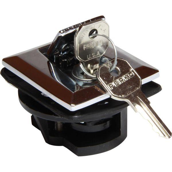 Perko 0921 Flush Lock & Latch (With 2 Keys)
