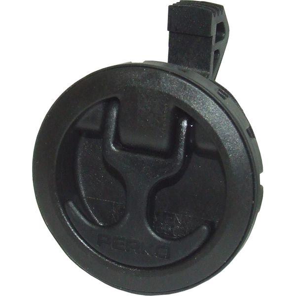 Perko 0675 Self Adjusting Slam Latch (Black)