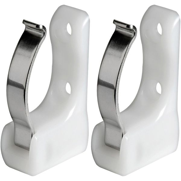 Osculati Sprung Pole Clips for 25-35mm Poles (Per Pair)