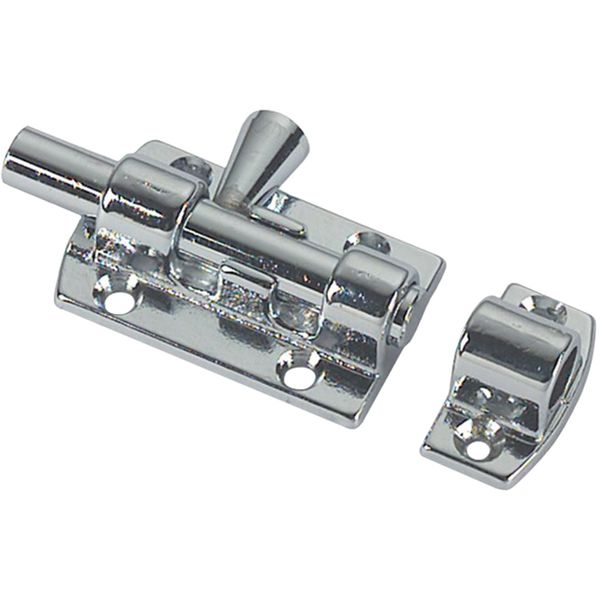 Foresti & Suardi Chrome Plated Brass Latch (60mm)