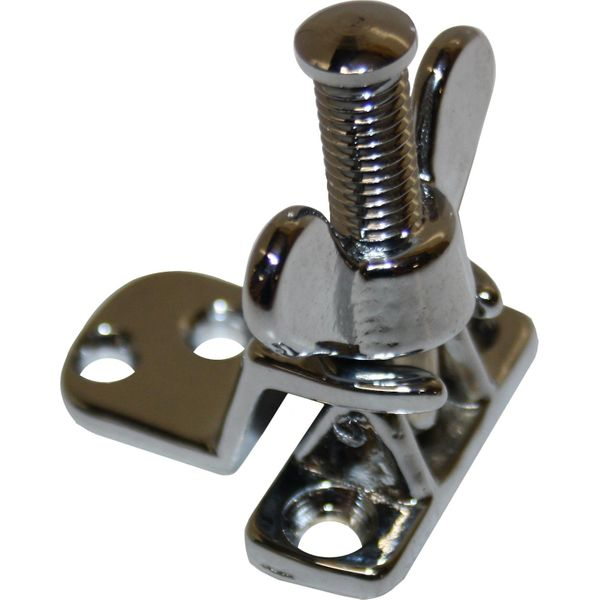 Foresti & Suardi Chrome Plated Brass Stopper for Hatches & Portholes