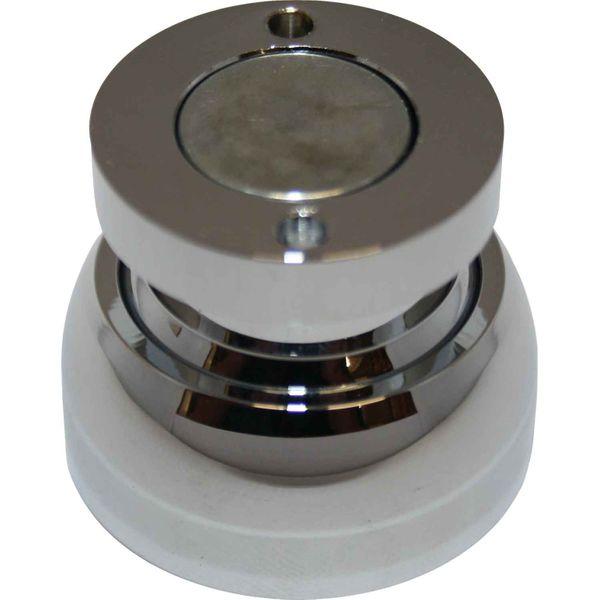 4Dek Chrome Plated Brass Magnetic Door Stop (40mm Diameter)
