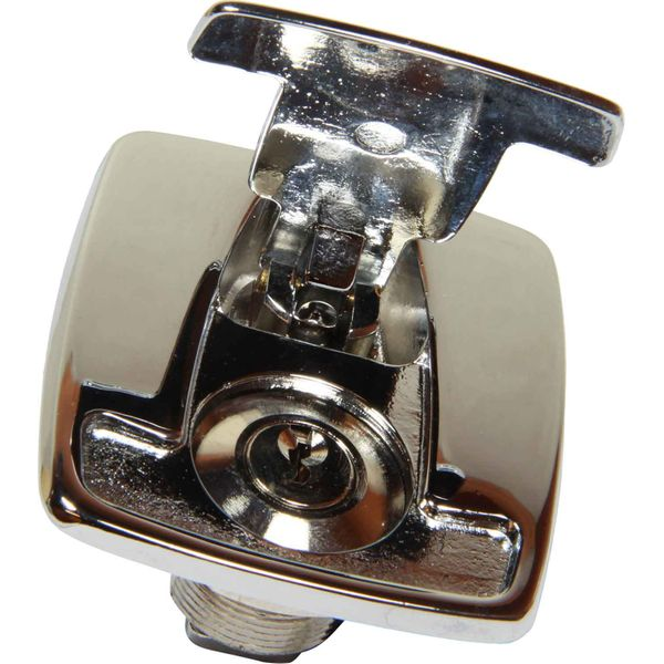 Foresti & Suardi Hatch / Locker Lock Flush Mount Chrome Plated Brass