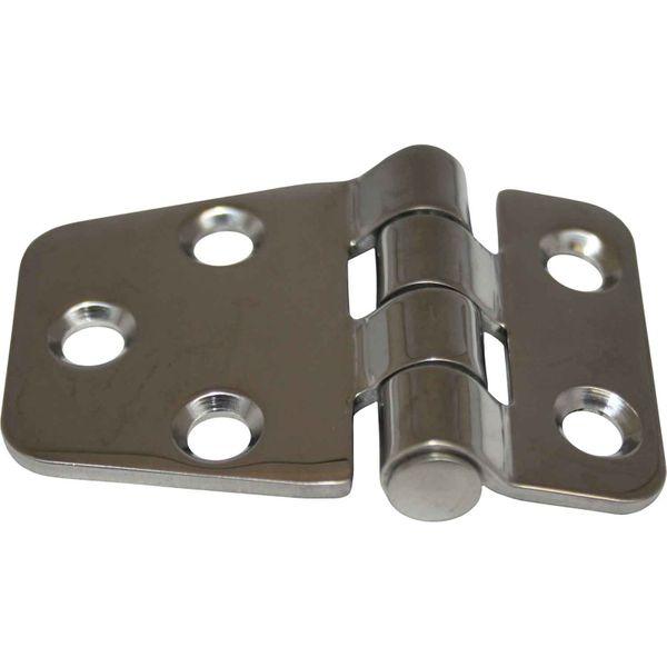 4Dek Stainless Steel Hinge (55mm x 37mm / Central Pin)