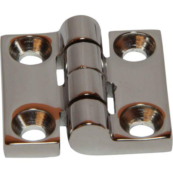 4Dek Stainless Steel Hinge (38mm x 38mm / Protruding Pin)
