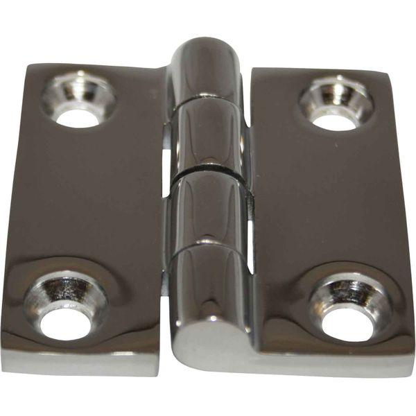 4Dek Stainless Steel Hinge (50mm x 50mm / Protruding Pin)