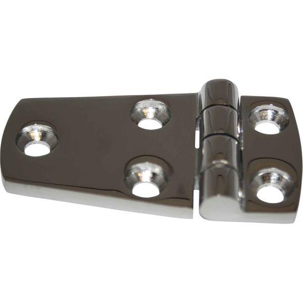 4Dek Stainless Steel Hinge (39mm x 74mm / Protruding Pin)